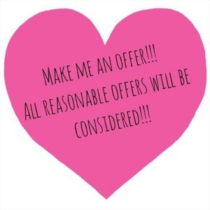 I consider all reasonable offers!